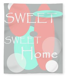 Sweet Sweet Home Fleece Blanket x by Jenny Rainbow. Our luxuriously soft throw blankets are available in two different sizes and feature incredible artwork on the top surface. The bottom surface is white. Blankets For Sale, Throw Blankets, Sweet Sweet, Sweet Home, Pastel Colors, Fine Art Photography, Bedroom Decor, Surface