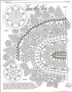 Vitória Régia Artes: Toalhinha em crochê com gráfico