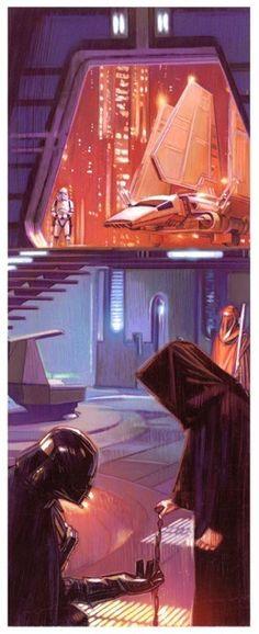 son-of-dathomir: Darth Vader and Emperor Palpatine...