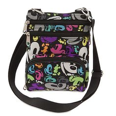 Mickey Mouse Colorful Crossbody Bag
