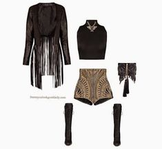 Damn You Look Good Daily: 2017 Coachella Outfit Idea