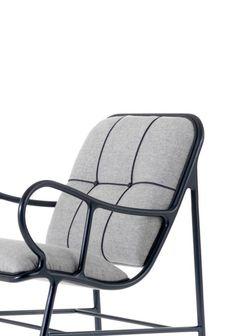 Sillón tapizado con brazos GARDENIAS INDOOR | Sillón by BD Barcelona Design