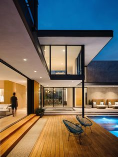 Modern Tropical House, Modern House Design, Contemporary Design, Future House, My House, Pool Landscape Design, Austin Homes, Austin Texas, Luxury Homes