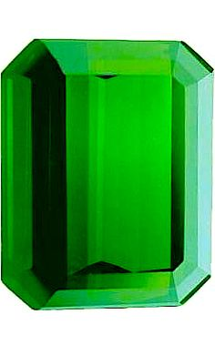 Tourmaline Elbaita -  Emerald cut