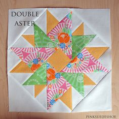 double aster by pinksuedeshoe, via Flickr