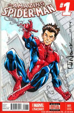 Peter Parker - Spider-Man by Todd Nauck *