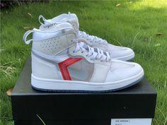 93c2a7ab0e65d Custom Air Jordan 1 X Nike React Element 87 Sail Light Bone