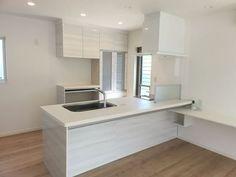 クリナップ Natural Interior, Kitchen Island, House Design, Home Decor, Island Kitchen, Interior Design, Architecture Design, Home Interior Design, Home Design