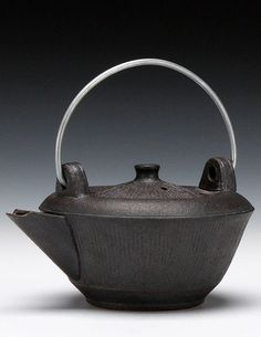 Ernest Gentry | high iron stoneware with iron glaze