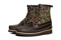 """Yuketen 2012 Fall/Winter """"Camo"""" Maine Guide DB Boot."""
