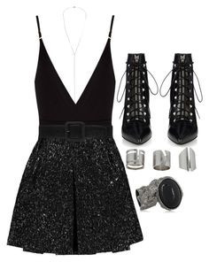 """Untitled #322"" by sincerelyash ❤ liked on Polyvore featuring Topshop, Osklen, Giambattista Valli and Yves Saint Laurent"