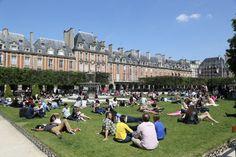Vosges Park, Paris.