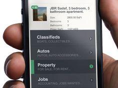 The new Mobile Design trend - Colour - Designmodo #ui #appdesign #interface