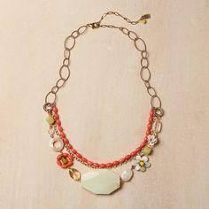 $95 Peruvian Opal Necklace