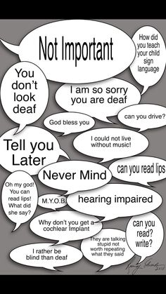 You don't look deaf! Are You Kidding Me! Deaf Art, Hearing Impairment, Self Advocacy, Learn Sign Language, Deaf People, Asl Signs, Preschool Writing, Deaf Culture, Disability Awareness