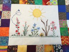 Disse fine blomster er syet af min kursist Inge Marie Jørgensen hos Speich Design i 2016. Embroidery, Quilts, Blanket, Design, Scrappy Quilts, Needlepoint, Quilt Sets, Blankets, Quilt