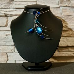 Colgante Sterling Silver-mod. The Croos-Hairs Silver Blue