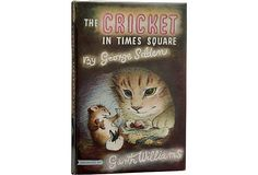Selden, George. New York: Farrar Straus Giroux, 1970. 17th printing. Originally published in 1960, illustrated by Garth Williams, who also illustrated Charlotte's Web and Stuart Little. This is an immaculate copy of a later printing, in an unusually well-preserved jacket with very slight dirt to back. When Chester, a cricket, arrives in the Times Square subway station via a picnic basket from Connecticut, he moves into a newsstand and makes new friends.