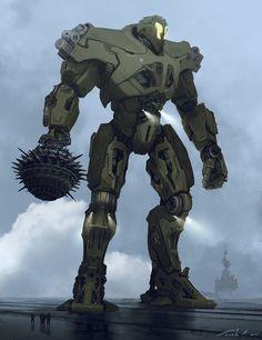 ArtStation - Titan Redeemer, Stephen Zavala