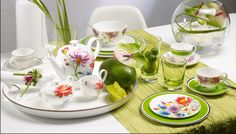 Garden Party with Villeroy & Boch - Fashionable Hostess From Farm To Table, Fashionable Hostess, Kitchenware, Tableware, Villeroy, Deco Table, Porcelain Ceramics, Decorative Accessories, Dinnerware