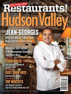 Hudson Valley Magazine's Best New Restaurants Issue (November 2014)