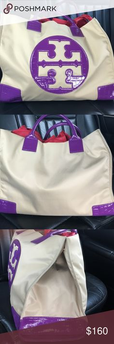 Tory burch large Ella tote In great condition Tory burch Ella tote Tory Burch Bags Totes