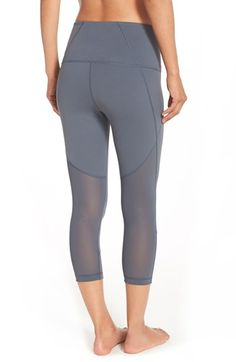 Zella 'Live In - Streamline' Slim Fit High Rise Capris available at #Nordstrom