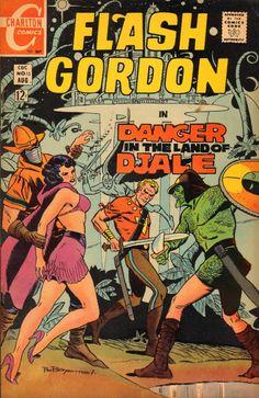 Flash Gordon Comic Book #15  Publisher: Charlton Comics  Date: August 1969