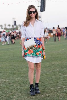Coachella Street Style 2014 - Best Festival Fashion - Elle