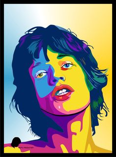 vektor pop art Mick Jagger by bennyartwork on DeviantArt Rolling Stones Album Covers, Rolling Stones Logo, Pop Art, Arte Pop, Mick Jagger, Draw On Photos, Rhythm And Blues, Portraits, Cultura Pop