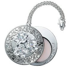 From Jill Stuart, Crystal Bloom in a solid perfume compact (1.2g), with Swarovski crystals and a chain to use as a bag charm. Due to launch in December 2014