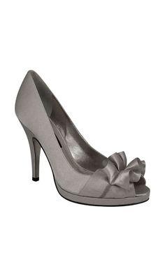 Bmaids Lulu Townsend Bridal Deena Pump In Royal Silver 49 95 Shoe Love Pinterest Shoes Pumps And Wedding