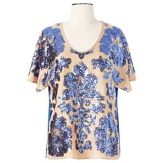 """Tracy Reese Blouse - Got it - LOVE IT!  Can't wait to wear with my skinny jeans and heels.  This is a really beautiful blouse and not too """"heavy"""" like some sequined tops can be."""