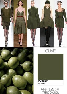 --> No idea if it works on me but I adore this colour around me. Olive - be careful, not everyone can carry olive well, it can be quite draining but great used as a neutral with warmer colours Fashion Colours, Colorful Fashion, Lady Like, Trend Council, Fashion Outfits, Womens Fashion, Fashion Trends, Fashion Clothes, Workwear Fashion