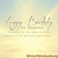 Happy Birthday Mom In Heaven For Facebook Quotes For Mom