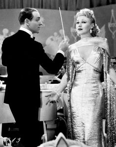Ginger Rogers (with Fred Astaire).