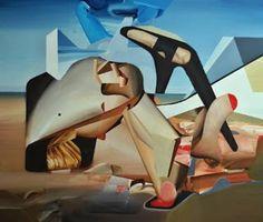 "Saatchi Art Artist Daniel Maczynski; Painting, ""the wilderness"" #art"