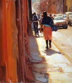 Kim English's paintings, filled with light!