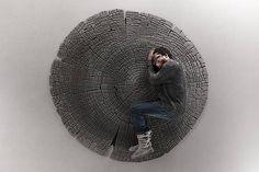 Woven Woodgrain:  3 Rugs That Imitate Trees