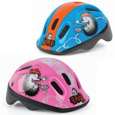 Weeride Spike Helmets 44-48cm Suitable from 6 months to 3 years Little ones can be safe in style with these fun helmets from Weeride.Weeride helmets are tested to ensure your child is safe whilst riding a bike or scooter . The Spike helmets are the smallest and lightest helmets available for babies and toddlers.