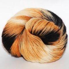 100% BFL Wool DK -  Calico Cat