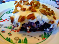 Sweet Tea and Cornbread: Blueberry Salad!