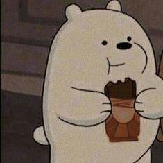cartoon : we bare bears character : ice bear Bear Wallpaper, Couple Wallpaper, Cute Disney Wallpaper, Cute Cartoon Wallpapers, Bear Cartoon, Cartoon Icons, Cartoon Art, Ice Bear We Bare Bears, We Bear