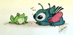 Stitch's little friend by ~jackfreak1994 on deviantART