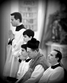 Latin High Mass, as it unfolds