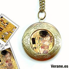 Collar Porta-Fotos El Beso http://www.verane.es