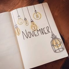 Lightbulb Bullet Journal Theme augustbulletjournal Lightbulb Bullet Journal The. - Bullet Journal - Lightbulb Bullet Journal Theme Lightbulb Bullet Journal The… Lightbulb Bullet Journal Theme Lightbulb Bullet Journal Theme Bullet Journal School, Bullet Journal Cover Ideas, Bullet Journal Notebook, Bullet Journal Spread, Bullet Journal Layout, Journal Covers, Bullet Journal Inspiration, Art Journal Pages, Journal Prompts
