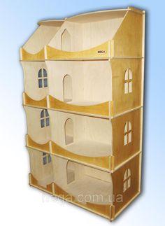 Кукольный домик-шкаф тонированый, фото 1