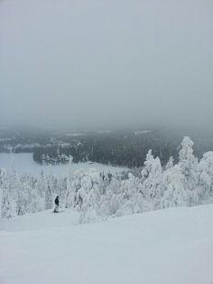 Pilvien tasolla, Ruka,Kuusamo, Suomi