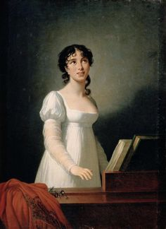 Portrait of Angelica Catalani, 1806 by Elisabeth Vigee-Lebrun. In the Arkhangelskoe Estate near Moscow, Russia.